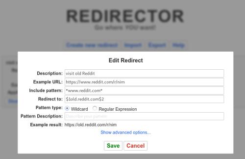 redirector
